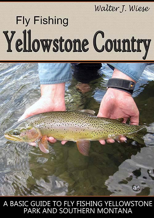 image of guidebook about fly fishing in Montana and Yellowstone