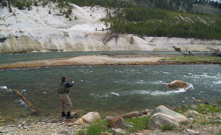 fishing in the grand canyon of the yellowstone